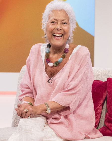 Lynda Bellingham passed away last month after a 15-month battle with cancer [Rex]